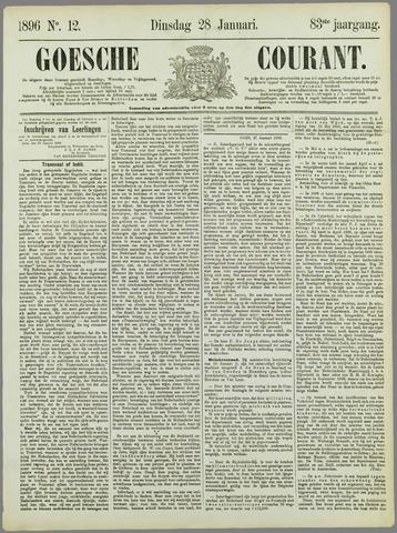 Goessche Courant 1896-01-28