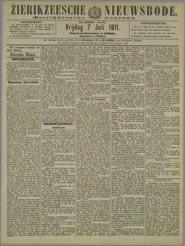 Zierikzeesche Nieuwsbode 1911-07-07