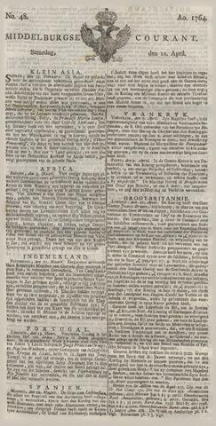 Middelburgsche Courant 1764-04-21