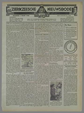 Zierikzeesche Nieuwsbode 1940-03-04
