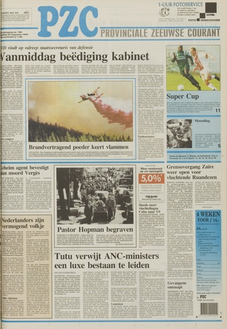 Provinciale Zeeuwse Courant 1994-08-22