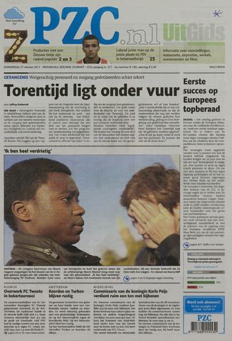 Provinciale Zeeuwse Courant 2011-10-27