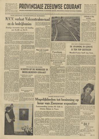 Provinciale Zeeuwse Courant 1954-07-19