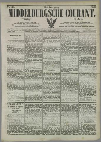 Middelburgsche Courant 1891-07-10