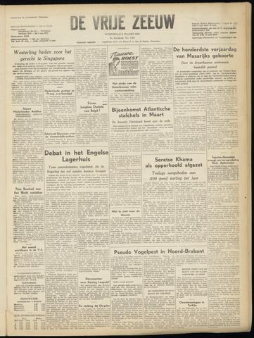 de Vrije Zeeuw 1950-03-08