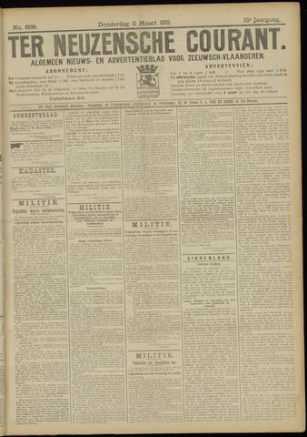 Ter Neuzensche Courant. Algemeen Nieuws- en Advertentieblad voor Zeeuwsch-Vlaanderen / Neuzensche Courant ... (idem) / (Algemeen) nieuws en advertentieblad voor Zeeuwsch-Vlaanderen 1915-03-11