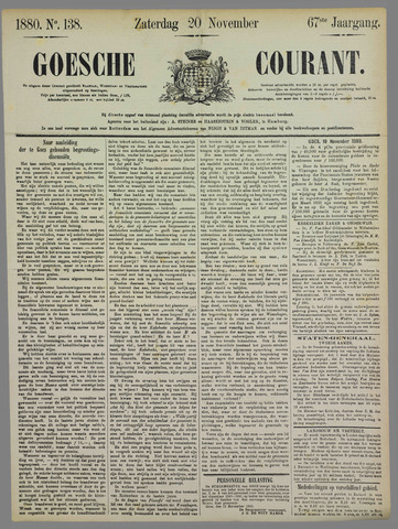 Goessche Courant 1880-11-20