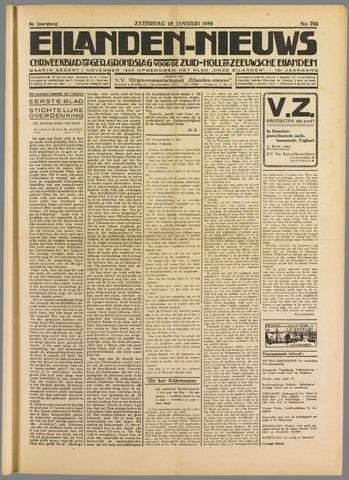 Eilanden-nieuws. Christelijk streekblad op gereformeerde grondslag 1936-01-18
