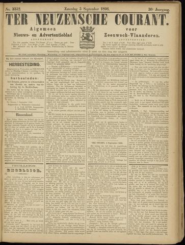 Ter Neuzensche Courant. Algemeen Nieuws- en Advertentieblad voor Zeeuwsch-Vlaanderen / Neuzensche Courant ... (idem) / (Algemeen) nieuws en advertentieblad voor Zeeuwsch-Vlaanderen 1896-09-05