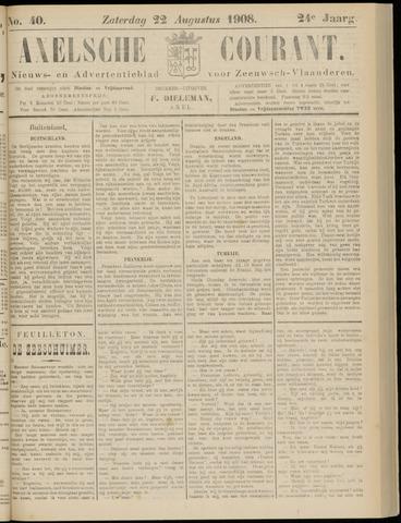 Axelsche Courant 1908-08-22