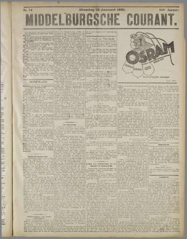 Middelburgsche Courant 1921-01-18