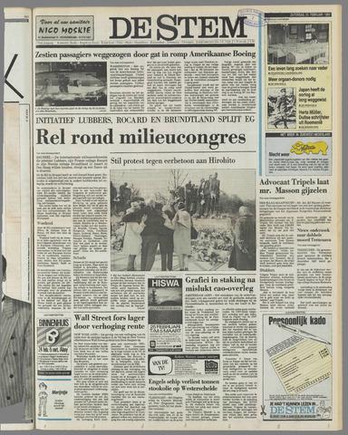 de Stem 1989-02-25