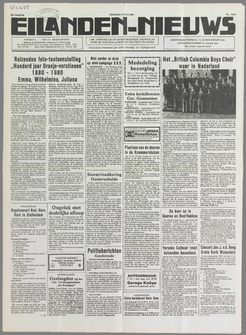 Eilanden-nieuws. Christelijk streekblad op gereformeerde grondslag 1985-07-23