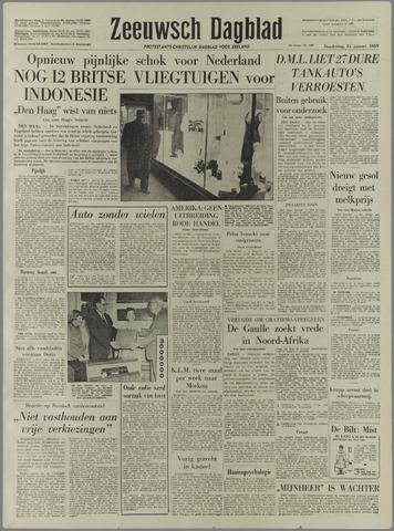 Zeeuwsch Dagblad 1959-01-15