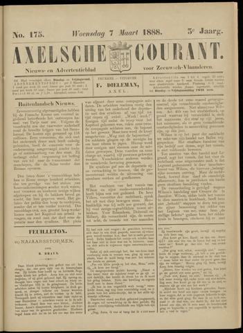 Axelsche Courant 1888-03-07
