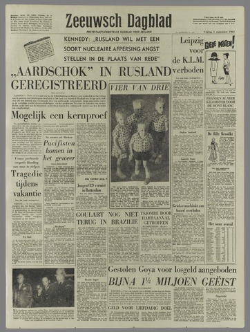 Zeeuwsch Dagblad 1961-09-01
