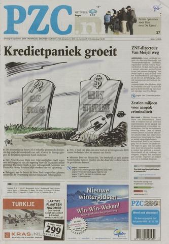 Provinciale Zeeuwse Courant 2008-09-30