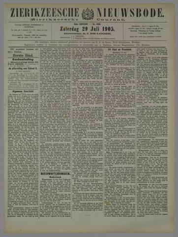 Zierikzeesche Nieuwsbode 1905-07-29