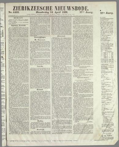 Zierikzeesche Nieuwsbode 1881-04-14