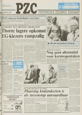 Provinciale Zeeuwse Courant 1984-06-19