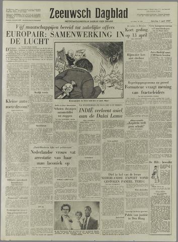 Zeeuwsch Dagblad 1959-04-04