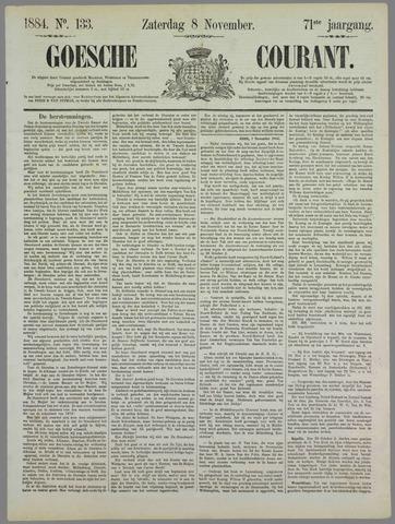 Goessche Courant 1884-11-08