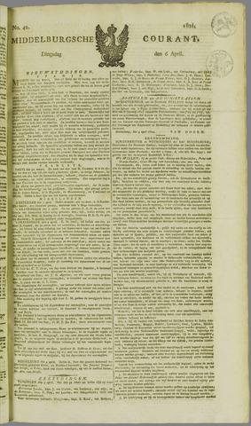 Middelburgsche Courant 1824-04-06