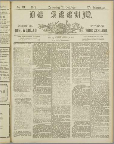 De Zeeuw. Christelijk-historisch nieuwsblad voor Zeeland 1912-10-26