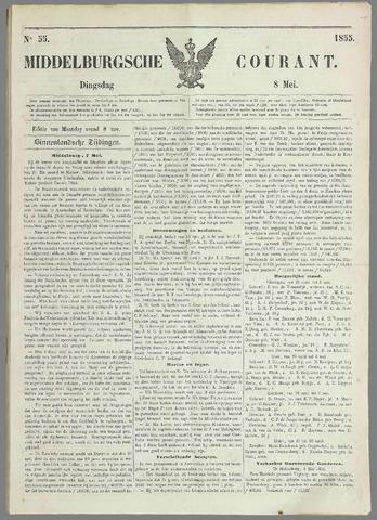 Middelburgsche Courant 1855-05-08