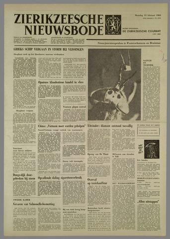 Zierikzeesche Nieuwsbode 1965-02-15
