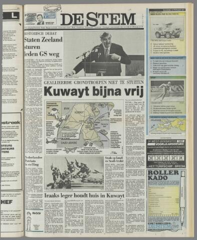 de Stem 1991-02-25