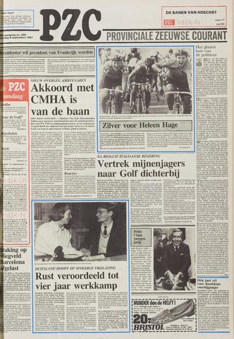 Provinciale Zeeuwse Courant 1987-09-05