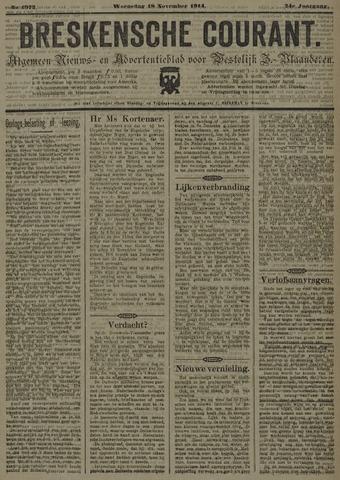 Breskensche Courant 1914-11-18