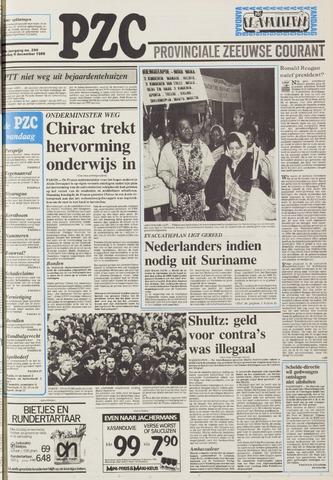 Provinciale Zeeuwse Courant 1986-12-09