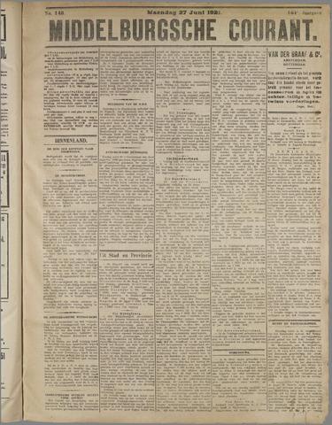 Middelburgsche Courant 1921-06-27