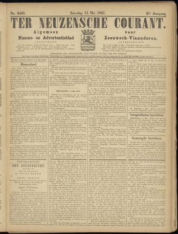 Ter Neuzensche Courant. Algemeen Nieuws- en Advertentieblad voor Zeeuwsch-Vlaanderen / Neuzensche Courant ... (idem) / (Algemeen) nieuws en advertentieblad voor Zeeuwsch-Vlaanderen 1897-05-15
