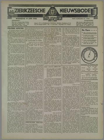 Zierikzeesche Nieuwsbode 1940-06-19