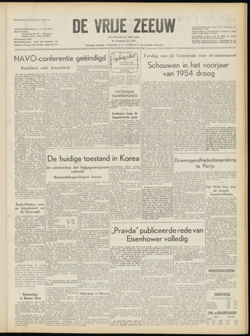 de Vrije Zeeuw 1953-04-27