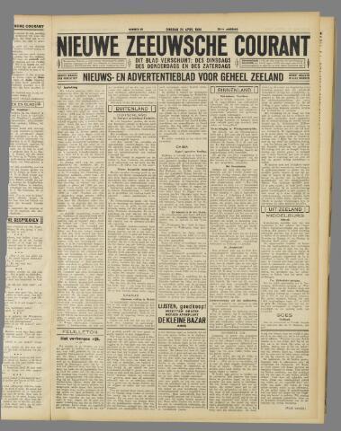 Nieuwe Zeeuwsche Courant 1934-04-24