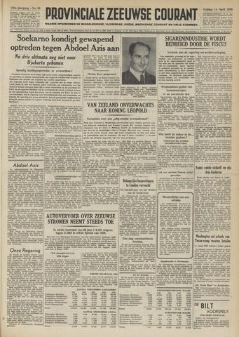 Provinciale Zeeuwse Courant 1950-04-14