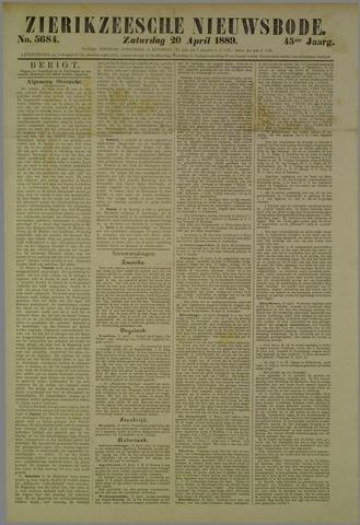 Zierikzeesche Nieuwsbode 1889-04-20