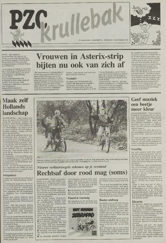 Provinciale Zeeuwse Courant katern Krullenbak (1981-1999) 1991-11-12