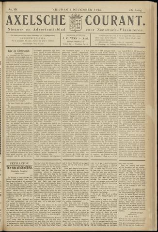 Axelsche Courant 1925-12-04