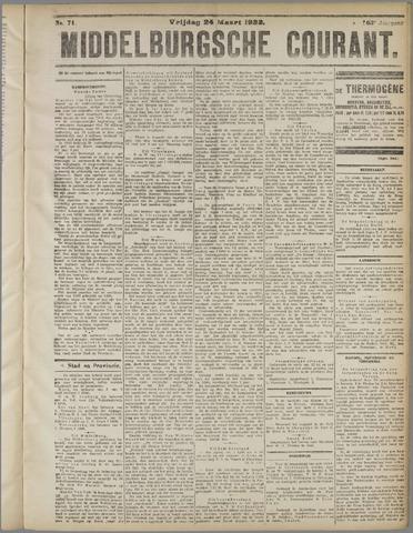 Middelburgsche Courant 1922-03-24