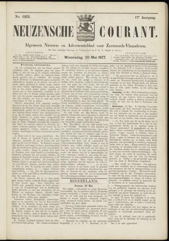 Ter Neuzensche Courant. Algemeen Nieuws- en Advertentieblad voor Zeeuwsch-Vlaanderen / Neuzensche Courant ... (idem) / (Algemeen) nieuws en advertentieblad voor Zeeuwsch-Vlaanderen 1877-05-30