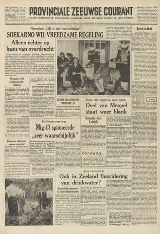 Provinciale Zeeuwse Courant 1962-01-23