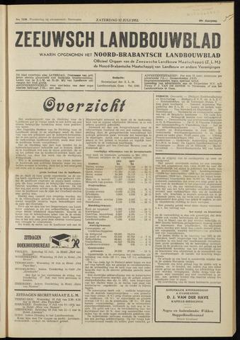 Zeeuwsch landbouwblad ... ZLM land- en tuinbouwblad 1952-07-12