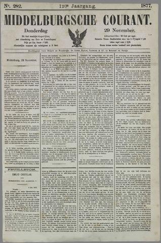 Middelburgsche Courant 1877-11-29