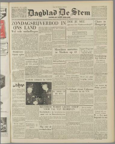 de Stem 1956-11-21
