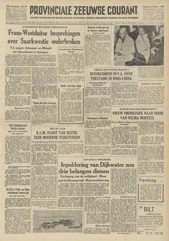 Provinciale Zeeuwse Courant 1954-03-23